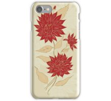 Colorful Flower Ornament iPhone Case/Skin