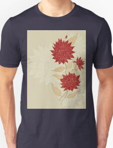 Colorful Flower Ornament T-Shirt