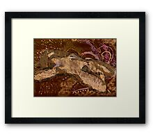 In your wings.. Framed Print