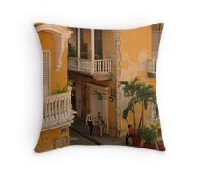Colonial Style Throw Pillow