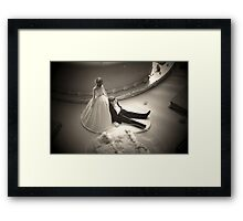 Reluctant Groom Framed Print