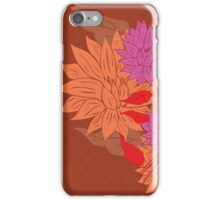 Colorful Flower Ornament 2 iPhone Case/Skin