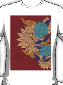 Colorful Flower Ornament 3 T-Shirt