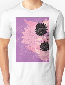 Colorful Flower Ornament 3 Unisex T-Shirt