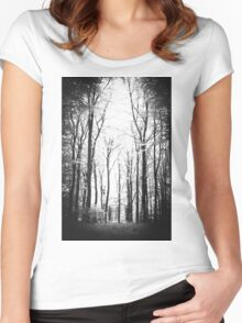 The Forest  Women's Fitted Scoop T-Shirt