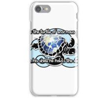 Turtle Beam Rhyme 2 iPhone Case/Skin
