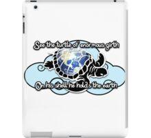 Turtle Beam Rhyme 2 iPad Case/Skin