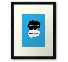 Fassavoy - TFIOS Framed Print