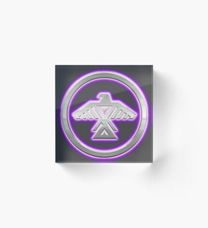 Ojibway Nation Emblem Acrylic Block