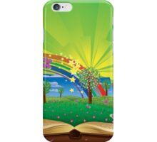 Magic book iPhone Case/Skin