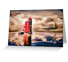 Harbour Light Greeting Card