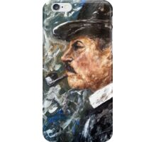 Chief Inspector Chester Campbell iPhone Case/Skin
