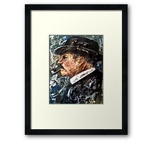 Chief Inspector Chester Campbell Framed Print