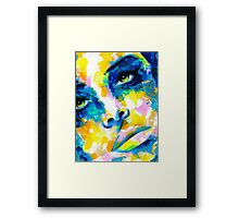 TILT Original Ink & Acrylic Painting Framed Print