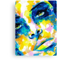 TILT Original Ink & Acrylic Painting Canvas Print