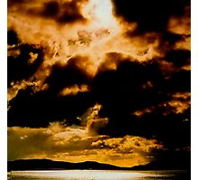 Irish Sky Photographic Print