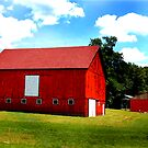 A Red Barn by jpryce