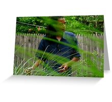 Dancing In The Summer Breeze Greeting Card