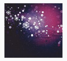 Abstract snowy background 2 Kids Clothes