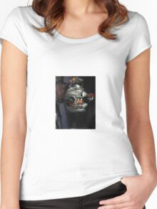 Lost in Space Robot Women's Fitted Scoop T-Shirt