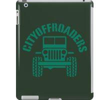 City of roaders iPad Case/Skin