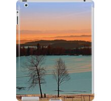 Colorful winter wonderland sundown VI | landscape photography iPad Case/Skin