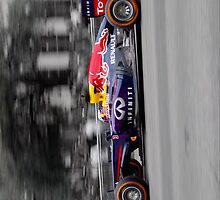 Red Bull F1 - Demo Run by F1-girl
