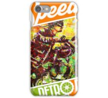 SPEEDY'S RETRO RIDES V.03 / GRAPHIC POSTER  iPhone Case/Skin