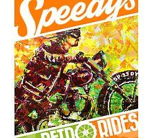 SPEEDY'S RETRO RIDES V.03 / GRAPHIC POSTER  by artxr
