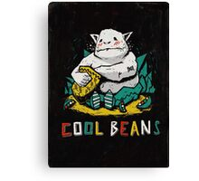 Cool Beans! Canvas Print
