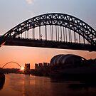 Tyne Bridge Sunrise by Great North Views