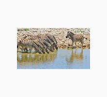 Zebra - African Wildlife - Lined up for Life Unisex T-Shirt