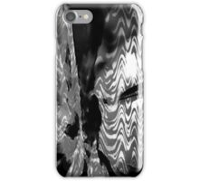 Psychmaster Blackflower 101 BW iPhone Case/Skin