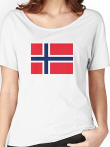 Norway flag Women's Relaxed Fit T-Shirt
