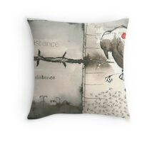 messenger 8 Throw Pillow