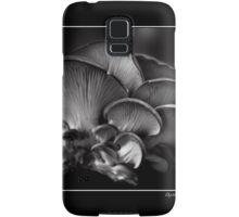 Oyster Mushroom Monochrome Poster Samsung Galaxy Case/Skin