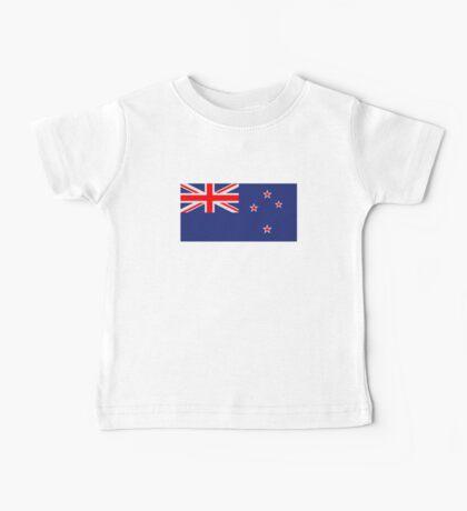 New Zealand flag Baby Tee