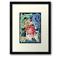 Magic Knight Rayearth Version 2 Framed Print