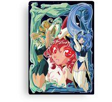 Magic Knight Rayearth Version 2 Canvas Print