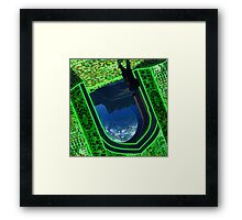 Outside the Jhelum Cosmic Portal. Framed Print