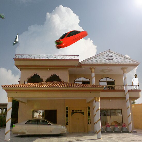 Pakistani Starfleet Commander Sohail Mohammad finally lands at Mamoon Wadi's House by Kenny Irwin