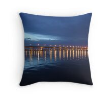 St. Lucie River Throw Pillow