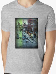 Urban New York Mens V-Neck T-Shirt