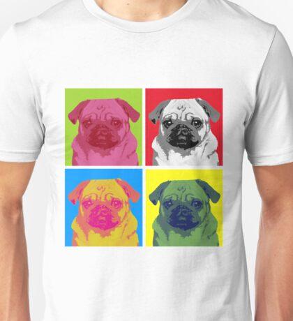 Pop Art Pug Unisex T-Shirt