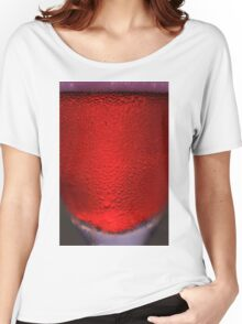 Red Champagne - Happy Times Women's Relaxed Fit T-Shirt
