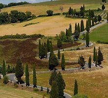 Tuscany by Mirka Rueda Rodriguez
