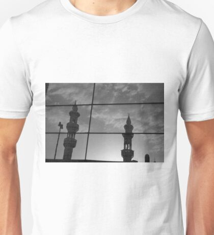 Distorted view Unisex T-Shirt