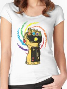 Infinity Power Women's Fitted Scoop T-Shirt