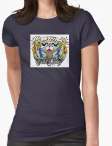 Duck Hunt Blood Thirsty Womens Fitted T-Shirt