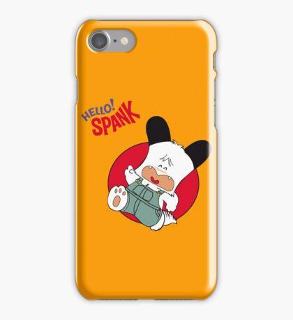 Hello Spank! iPhone Case/Skin